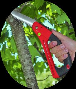 TGF folding pruning saw
